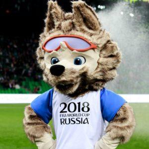Забивака талисман Чемпионата мира по футболу