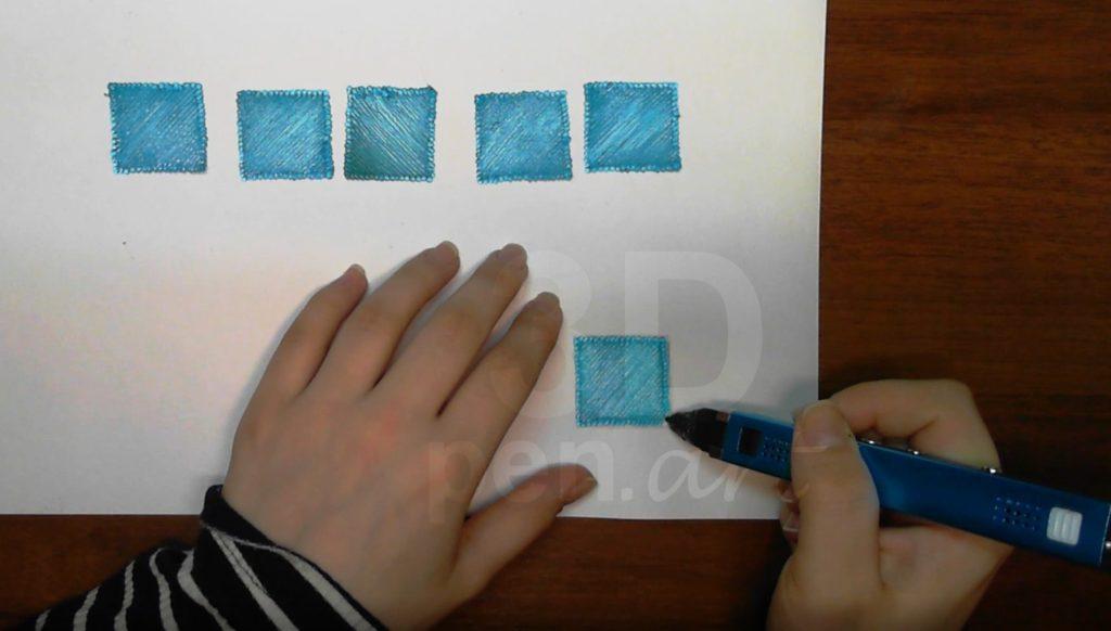 Кубик 3д ручкой