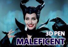 малефисента 3д ручкой 3d pen maleficent
