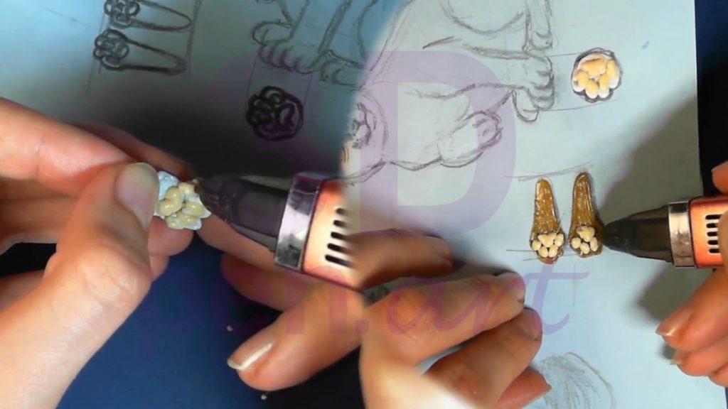 Рысь 3D ручкой. Рисуем подушки