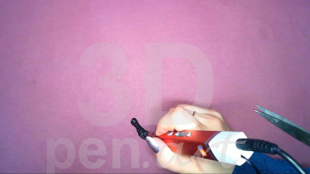 Корабль 3D ручкой. Рисуем гальюнную фигуру