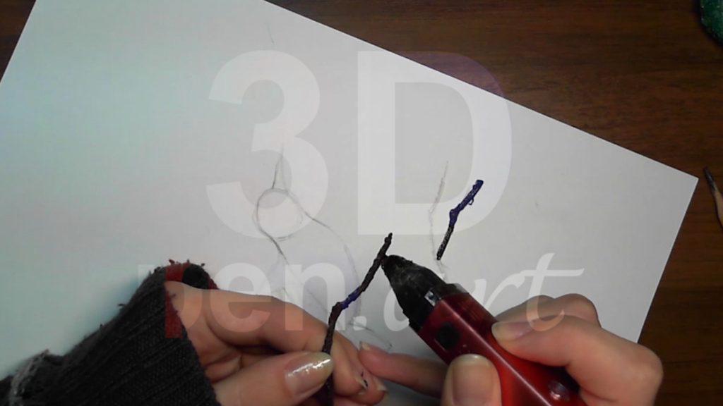 Рисуем веточку