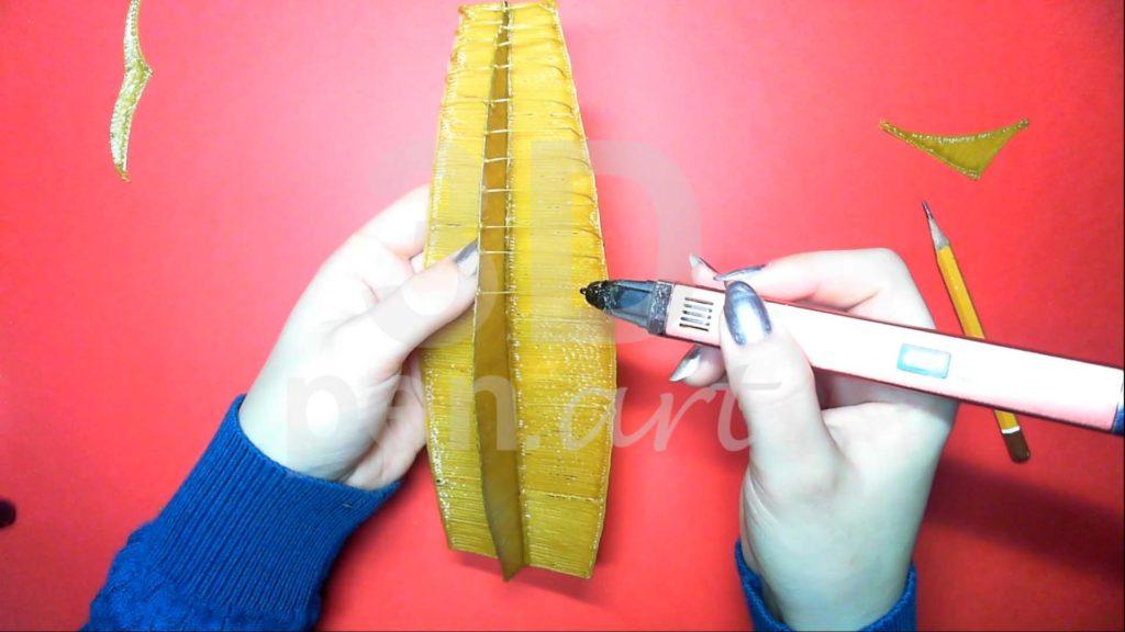 Корабль 3D ручкой. Делаем каркас