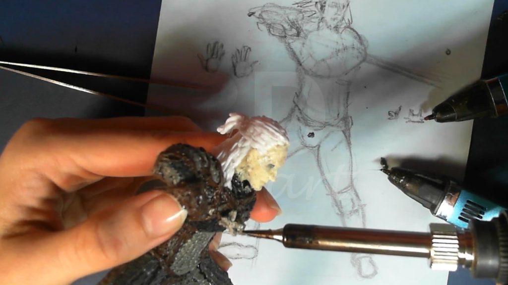 Ведьмак 3D ручкой. Рисуем и прикрепляем ведьмачий амулет