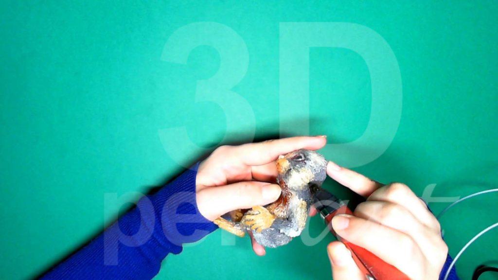 Обезьяна 3D ручкой. Сглаживаем переходы